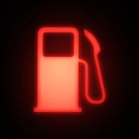 Luz de bajo combustible Explorer